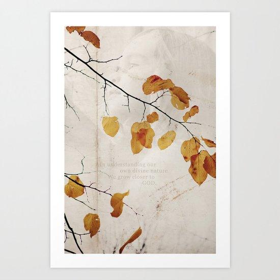 Divine Nature Art Print