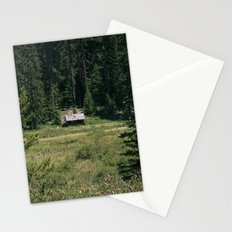 Cabin In The Meadow Stationery Cards