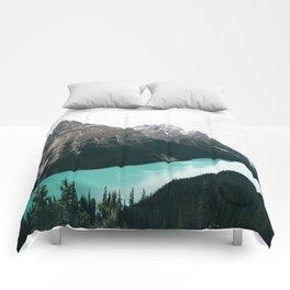 Peyto Lake Comforters