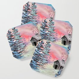 Winter calm Coaster