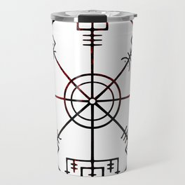 Vegvísir Travel Mug