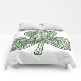 Shamrock Doodle Comforters