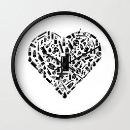 I Love Vape   Vaping Vaper E-Cigarette Liquid Wall Clock