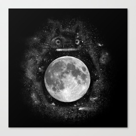 My Neighbor in the Sky Canvas Print