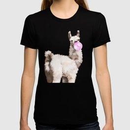 Baby Llama Blowing Bubble Gum T-shirt