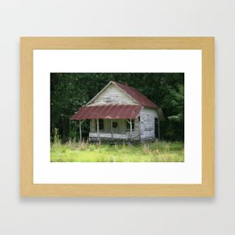 Old House Framed Art Print