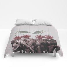 Cherry Mugshot Comforters