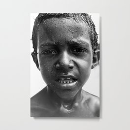 brazilian kid Metal Print