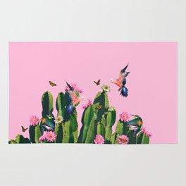 the Succulent Cactus Rug