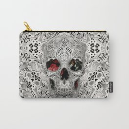 Lace Skull 2 Carry-All Pouch