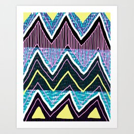 Sunchoke #5 Art Print
