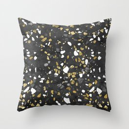 Glitter and Grit 2 Throw Pillow