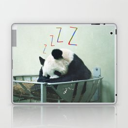 Sleepy Panda Laptop & iPad Skin