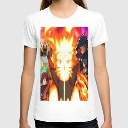 shinobi world war T-shirt