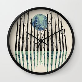 Little black forest Wall Clock