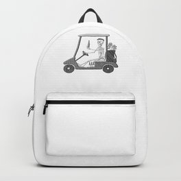 Forever Golfing Funny design For Golf Lover Backpack