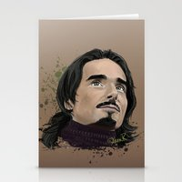 kevin russ Stationery Cards featuring Kevin -BSB by Tish