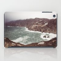 league iPad Cases featuring Slieve League in winter by Marie Carr