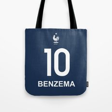 World Cup 2014 - France Benzema Shirt Style Tote Bag