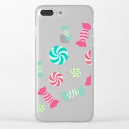 Pastel Sugar Crush Clear iPhone Case