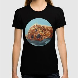 Newton the Lounging Cocker Spaniel T-shirt