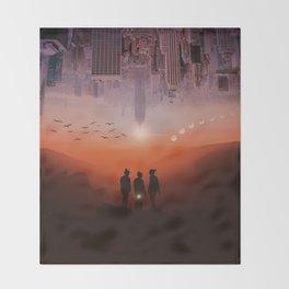 Three missing women by GEN Z Throw Blanket