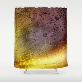 Coloribus infectum tergo glas Shower Curtain