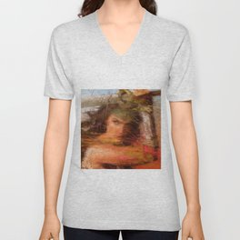 this amazing woman Unisex V-Neck