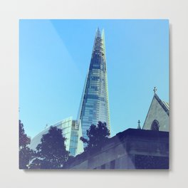 The shard on a sunny day Metal Print