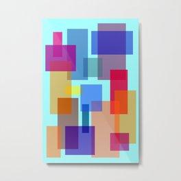 Abstract #535 Metal Print