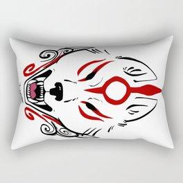 Okami Amaterasu (Plain White) Rectangular Pillow