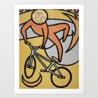BMX - Sport Fever Art Print