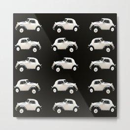 Fiat 500 Toppolino - italian vintage automobile - #society6 #buyart Metal Print