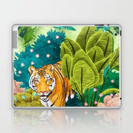 Jungle Tiger Laptop & iPad Skin