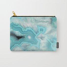 Aqua Sea Stone Carry-All Pouch