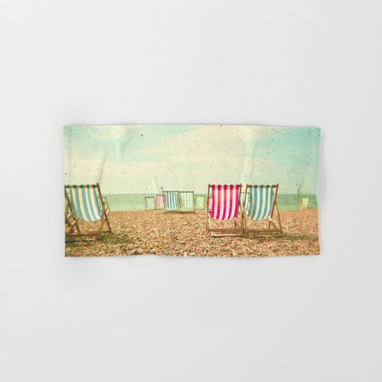Deckchairs Hand & Bath Towel