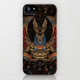 Anubis - Egyptian God iPhone Case