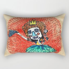 Ugly princess is looking for love Rectangular Pillow