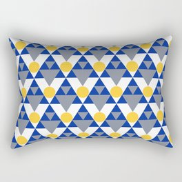 Modern Winter Pattern Rectangular Pillow