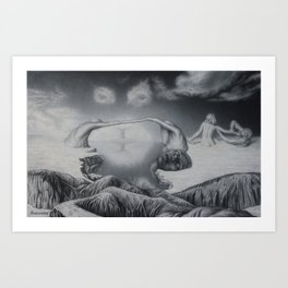 The Great Mother's Land Art Print
