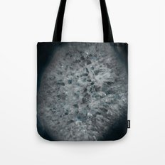 Blue and white agate Tote Bag