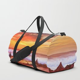 Evening flame Duffle Bag