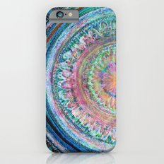 Pink and Turquoise Mandala Slim Case iPhone 6