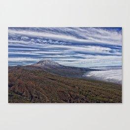 El Teide Canvas Print