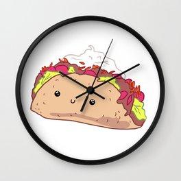 Happy Taco Wall Clock