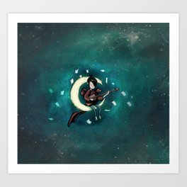 kubo and the two strings Art Print