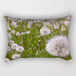 Army of Dandelions Rectangular Pillow