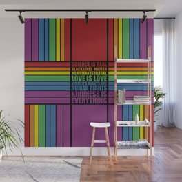 Science is real... Inspirational Fashion Wall Mural