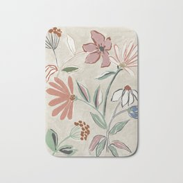 Monday Floral Bath Mat