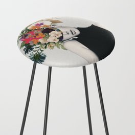 Floral beauty Counter Stool